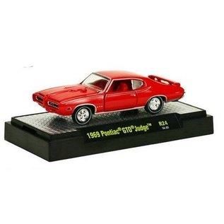 M2 Machines 1969 Pontiac GTO Judge Red Detroit Muscle M2 1:64
