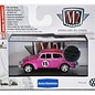 M2 Machines 1953 VW Beetle Deluxe USA Model Pink 2015 Super Toy Con M2 1:64