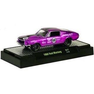 M2 Machines 1968 Ford Mustang Purple Auto Mods M2 1:64 Diecast