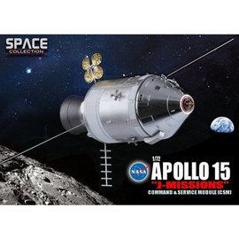Dragon Models Apollo 15 J Mission CSM Dragon 1:72 Diecast