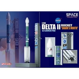 Dragon Models Delta II Rocket USAF GPS-IIR-16 Dragon 1:400 Diecast