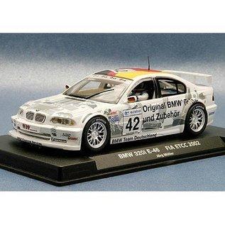 Fly Car Model BMW 320i E46 #42 - FIA ETCC 2002 - Fly - 1:32 Slot Car