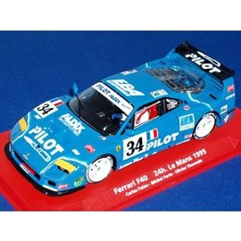 Fly Car Model Ferrari F40 #34 - Le Mans 1995 - Fly - 1:32 Slot Car