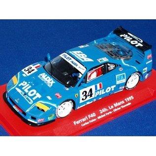 Fly Car Model Ferrari F40 #34 - Le Mans 1995 - Fly - 1:32 Slot Car