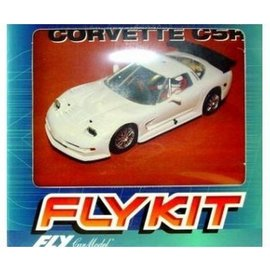 Fly Car Model Corvette C5R - White - Fly - 1:32 Scale Slot Car Kit