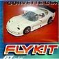 Fly Car Model Corvette C5R - White - Fly - 1:32 Scale Slot Car Kit