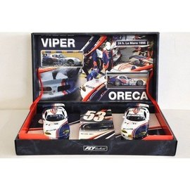 Fly Car Model 1998 Chrysler Viper GTS-R - Team Oreca - Fly - 1:32 Slot 2 Car Set