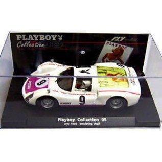 Fly Car Model Porsche Carrera 6 Playboy Emulating Virgil - FLY - 1:32 Scale Slot Car