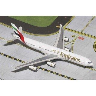 Gemini Jets Emirates Airbus A340-300 Gemini 1:400 Diecast Airplane