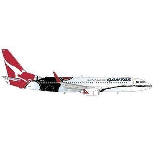 Gemini Jets Qantas Boeing B737-800 Mendoowoorrji Gemini 1:400 Diecast