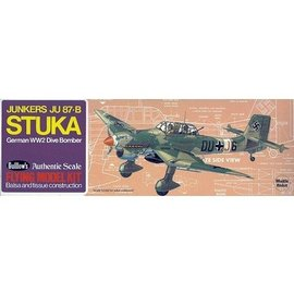 Guillows Junkers JU-87B Stuka - Guillows - 1:32 Scale Wood Kit