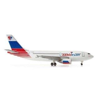 Herpa Aeroflot A310 Test Livery Herpa 1:500 Diecast Aircraft