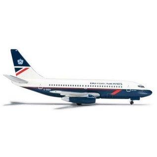 Herpa British Airways B737-200 Herpa 1:500 Diecast Aircraft