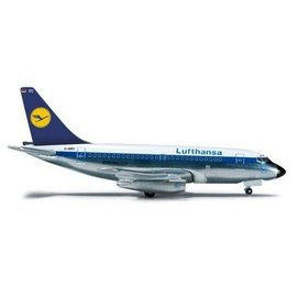 Herpa Lufthansa Boeing B737-100 Herpa 1:500 Diecast