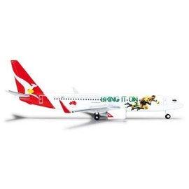 Herpa Qantas Boeing B737-800 2013 Lions Tour Herpa 1:500 Diecast