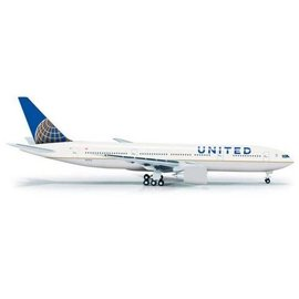 Herpa United Airlines Boeing B777-200ER Herpa 1:500 Diecast