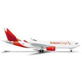Herpa Avianca Cargo Airbus A330-200F Herpa 1:500 Diecast