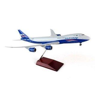 Hogan Wings Silkway West Airlines Azerbaijan Cargo Boeing 747-8F Hogan 1:200 Plastic