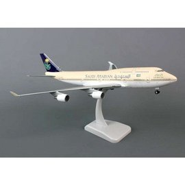 Hogan Wings Saudi Arabian Airlines Boeing B747-400 Hogan 1:200 Plastic