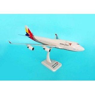 Hogan Wings Asiana Airlines Cargo Boeing B747-400BCF Hogan 1:200 Plastic