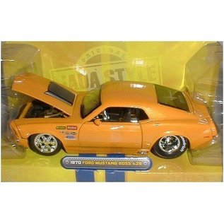 Jada Toys 1970 Ford Mustang Boss 429 - Orange - Jada - 1:24 Diecast Car