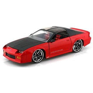 Jada Toys 1985 Chevy Camaro Red Jada 1:24 Diecast