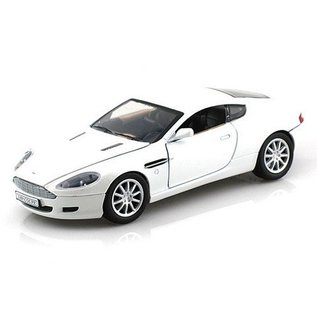 Motor Max Aston Martin DB9 Coupe White Motor Max 1:24 Diecast