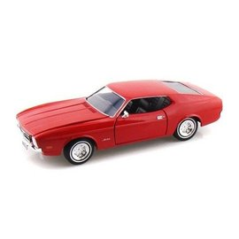 Motor Max 1971 Ford Mustang Sportsroof Red Motor Max 1:24 Diecast