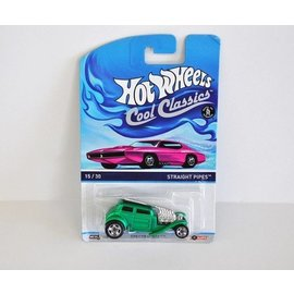 Hot Wheels HW Straight Pipes Green Cool Classics Mattel 1:64 Diecast