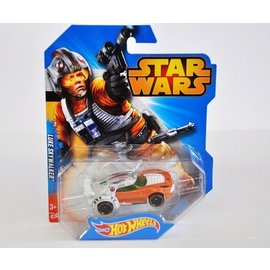 Hot Wheels HW Star Wars Luke Skywalker Mattel 1:64 Diecast