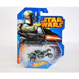 Hot Wheels HW Star Wars Boba Fett Mattel 1:64 Diecast