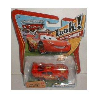 Hot Wheels CARS - Lightning McQueen w- Changing Eyes - Hot Wheels