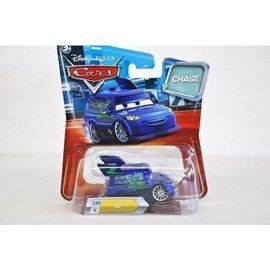 Mattel Pixar CARS DJ - Chase - Mattel - 1:50 Scale Diecast
