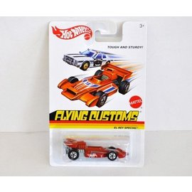 Hot Wheels HW Flying Customs El Rey Special Orange Mattel 1:64