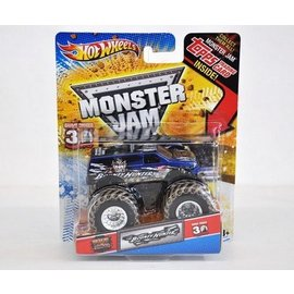 Hot Wheels HW Monster Jam Bounty Hunter Blue Hot Wheels 1:64