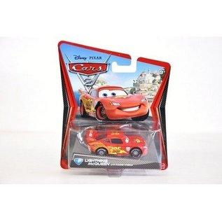 Mattel CARS 2 Lightning McQueen With Racing Wheels Mattel 1:50 Diecast Car