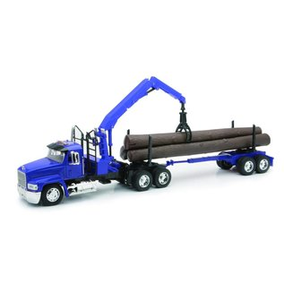 New Ray Mack Log Truck - 1:32 - Diecast From New Ray
