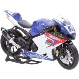 New Ray Suzuki GSX-R1000 Yoshimura - New Ray - 1:12 Diecast Bike
