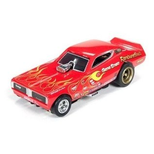Auto World 1971 Dodge Charger FC Rambunctious Gene Snow AW HO Slot Car