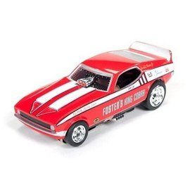 Auto World 1972 Ford Mustang FC Fosters King Cobra Auto World HO Slot Car