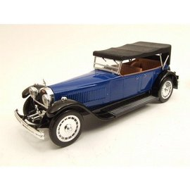 RIO Models 1927 Bugatti 41 Royale Torpedo Closed Top Blue RIO 1:43