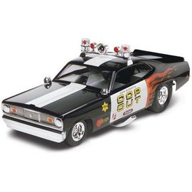 Revell-Monogram RMX Tom Daniel Plymouth Duster Cop Out Funny Car Revell 1:24 Plastic