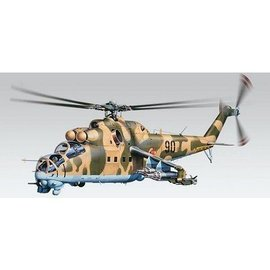 Revell-Monogram RMX MiL-24D Hind Helicopter - Revell - 1:48 Plastic Kit