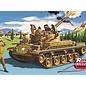 Revell-Monogram RMX Twin Forty Tank Renwal Blueprint Models Revell 1:32 Plastic Kit