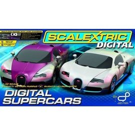 Scalextric Digital Supercars Slot Car Track Scalextric 1:32 Scale