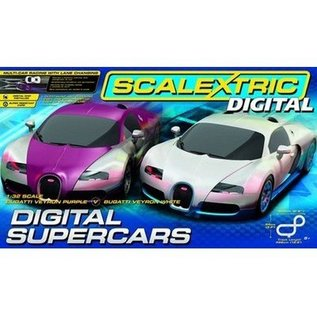Scalextric Digital Supercars Slot Car Track Set Scalextric 1:32 Scale