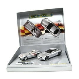Scalextric Mercedes-Benz 722 2 Car Set - Scalextric 1:32 Scale Slot Car Set