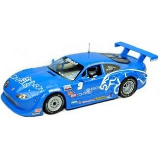 Scalextric Jaguar XKRS - Johnson Controls - Scalextric 1:32 Scale Slot Car