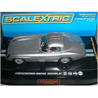 Scalextric Mercedes 300 SLR Coupe - Silver - Scalextric - 1:32 Scale Slot Car