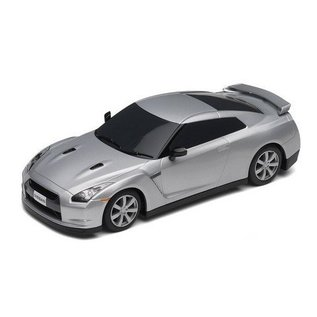 Scalextric Nissan GT-R - Silver - Scalextric - 1:32 Scale Slot Car